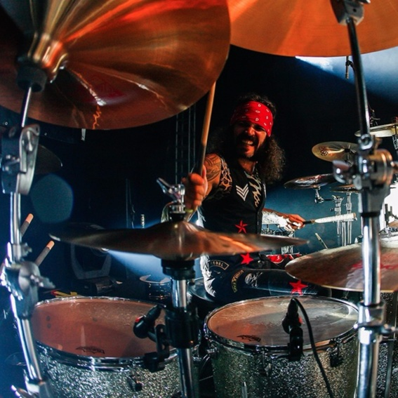 Drum-Lesson with Lee Stingray + Sticks + CD