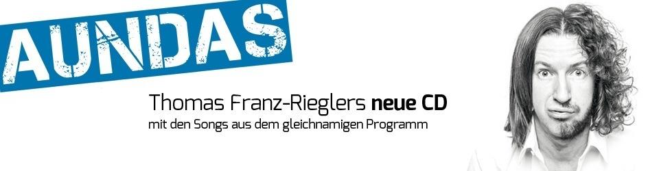 "Thomas Franz-Riegler -- Neue CD  ""AUNDAS"""