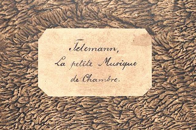 Telemanns Kleine Kammermusik
