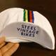 Steel Vintage Bikes Cycling Cap