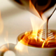 Cappuccino am Ofen