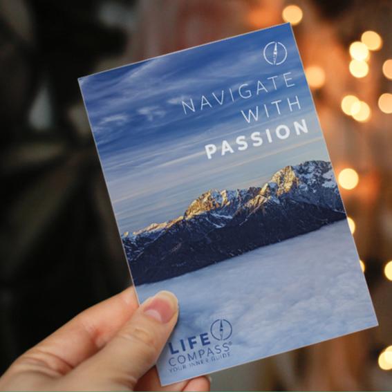 LIFE COMPASS Postkarte