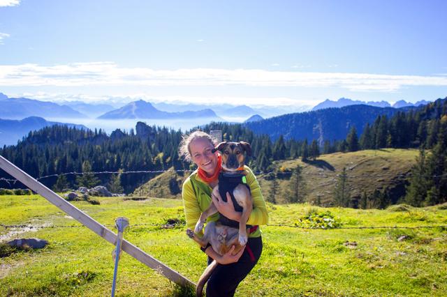 Einbeiniger Alpencross