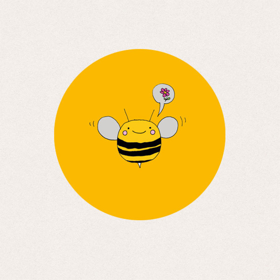 THE SPYING BEE - Our Bee Sticker