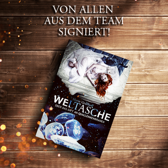 'Weltasche' Paperback signed by entire Team