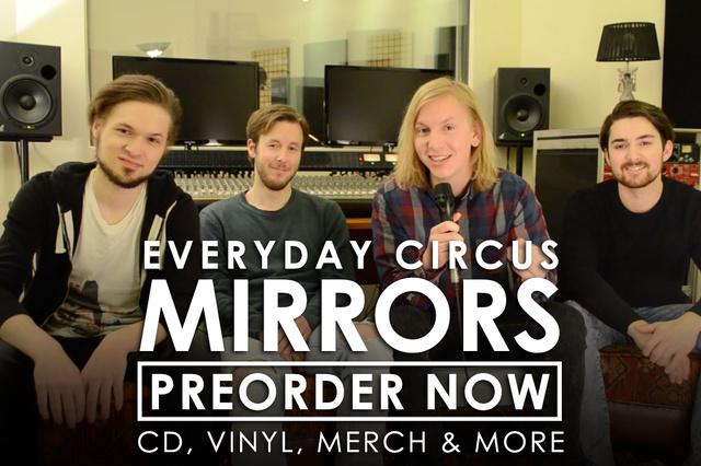 Everyday Circus - Mirrors DEBÜTALBUM