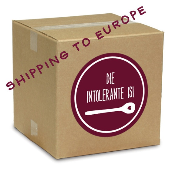 """intolerant Izy food box"" - SHIPPING TO: EUROPE"