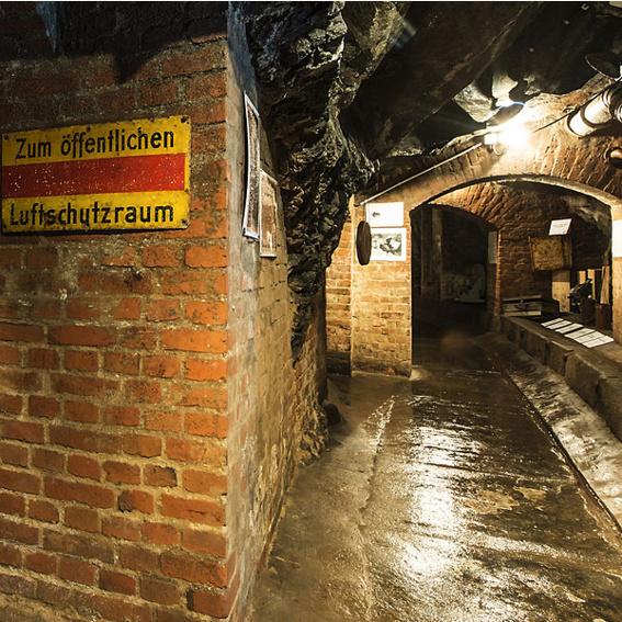 Exklusive Führung Luftschutzmuseum Meyerhof Plauen