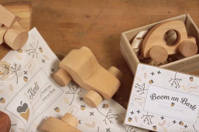 Holzspielzeug von Boom un Bark