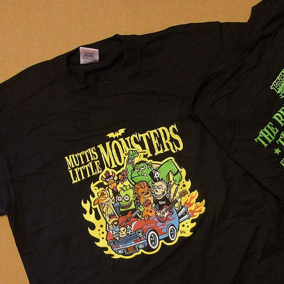 Muttis Little Monsters - T-shirt für größere Menschen