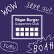 Réger Burger Supporters Club - Dein Name im Truck