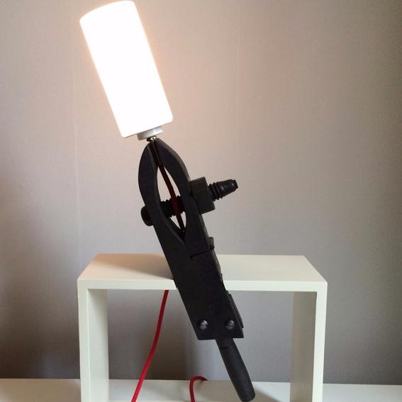 Future-Past-Design Lampe