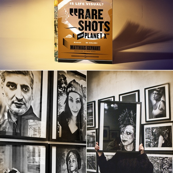 RARE SHOTS book with your name in the acknowledgements and photo-shooting with you