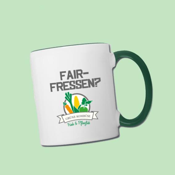 Eine exklusive Grüne-Kombüse Tasse für dich!