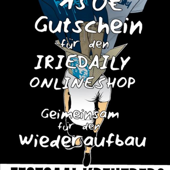 Iriedaily Online-Shop 150 € Gutschein!