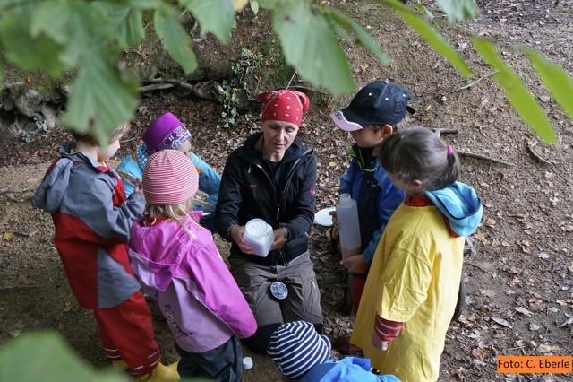 Aktion zum Erhalt der Waldkinder