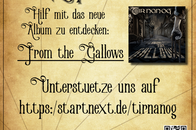 "Tir Nan Og - Neue CD: ""From the Gallows"""