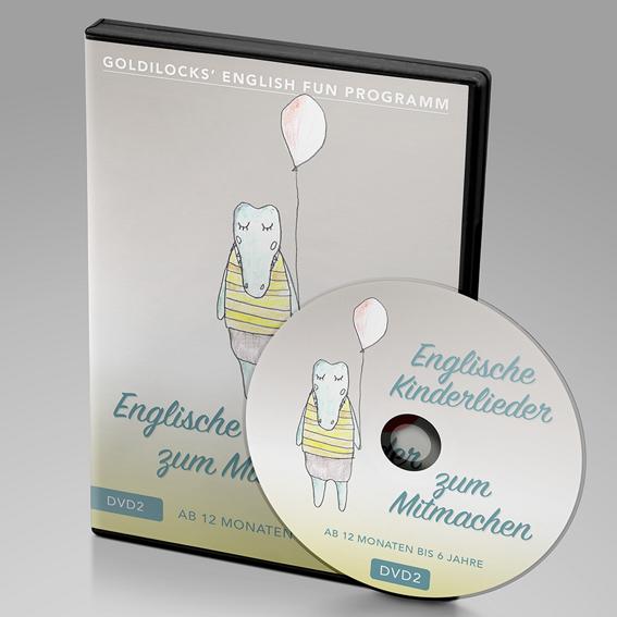 DVD 2 für Kinder ab 1 - 6 Jahren (inkl.Handbuch)