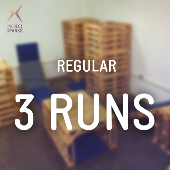 3 Runs + Training - Regular