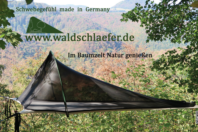 Waldschläfer-Baumzelte made in Germany