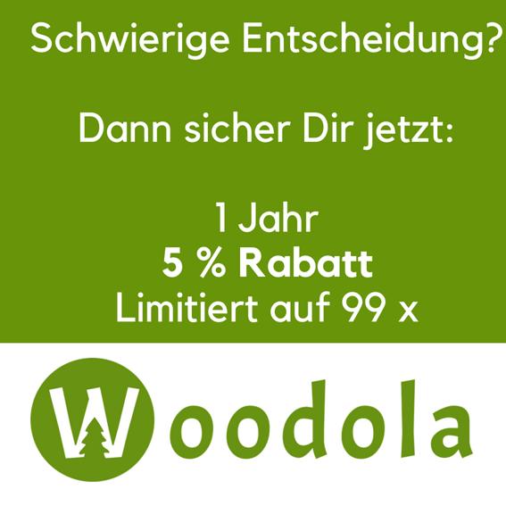 """1 Jahr 5 % Rabatt +1 Baum + Baumurkunde+ """"Forest of Fame"""""""