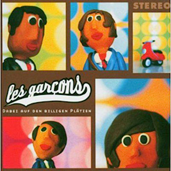 """les garcons """"Dabei auf den billigen Plätzen"""" rares Vinyl Album (Auf Wunsch signiert!)"""