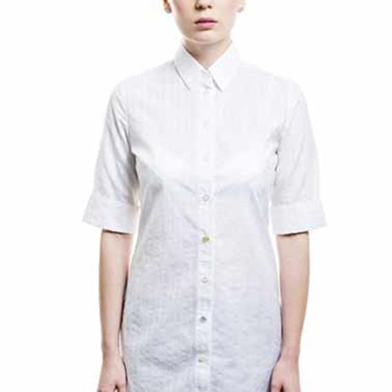 Blusenkleid | weiß