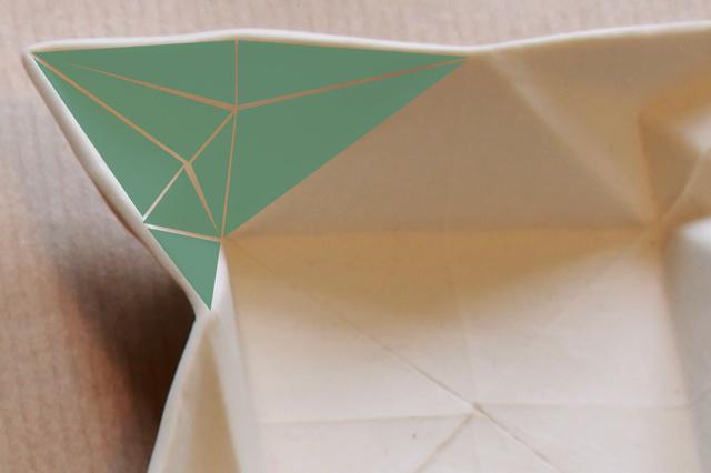 Origami Geschirr von moij design