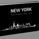Bildband New York mit Musik - CD