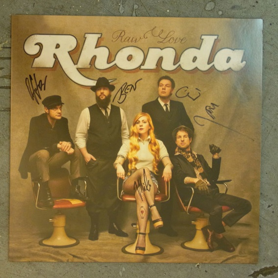 Rhonda - Raw Love Vinyl LP signiert