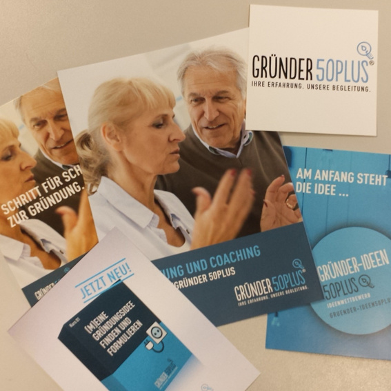 Infopaket Gründer 50plus