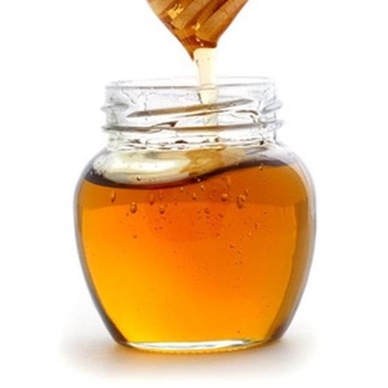 A small jar of honey, of 250 grams