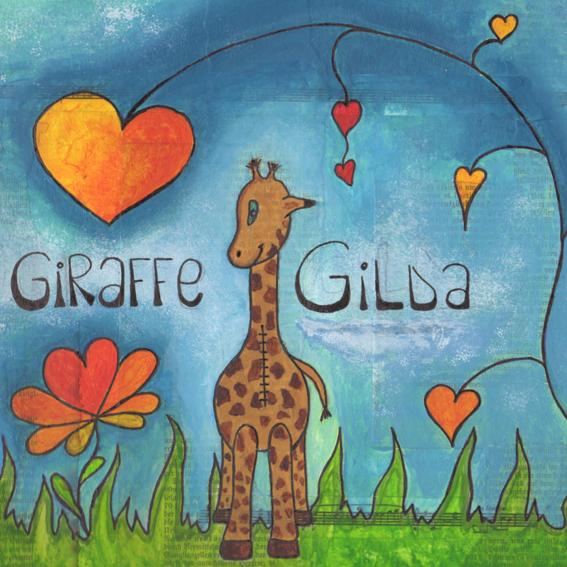 Gilda-Postkarte