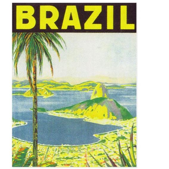 Dankespostkarte aus Bahía