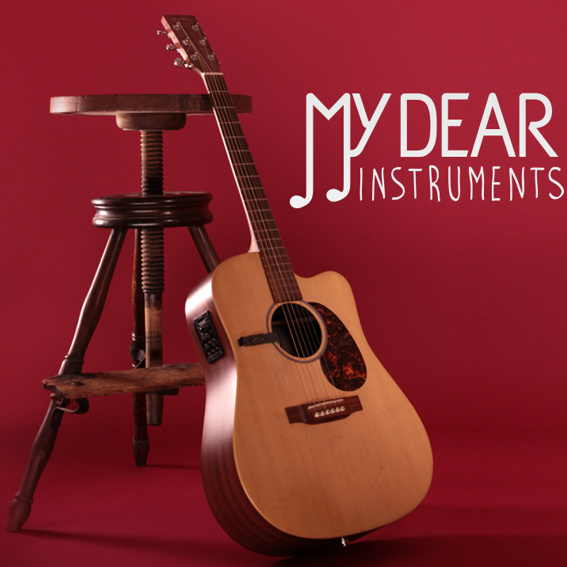 Antikes Einzelstück: Original My Dear Instruments Studiohocker