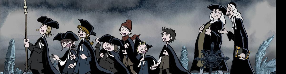 """Animationsfilm Johann Sebastian Bach und die Thomaner """"Totenmesse"""""""
