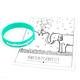 #weilküssenfetzt Armband & Postkarte