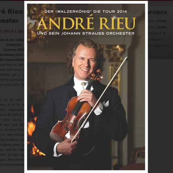 ANDRÉ RiEU LIVE am 24.01.