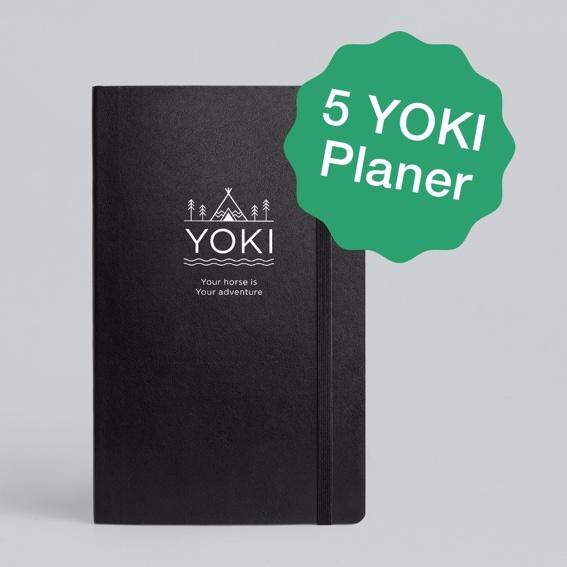 Fünf YOKI Planer