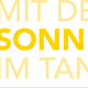 """Postkarte """"Mit der Sonne im Tank"""""""