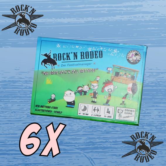 6 x Spiel / Händlerbagde klein