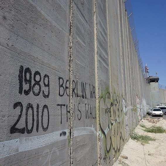 Your Graffiti on the Mural of Bethlehem!