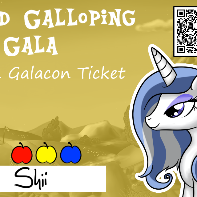 Golden Galacon Ticket Upgrade