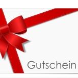 € 75,- Gutschein für Online -Shop