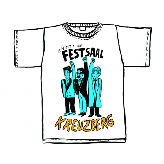Festsaal Shirt! Exklusives Herman Dune Design! + Updates (Versand)