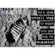"""10 Postkarten """"Small Step"""" (mit Motiv und WaveFont-Aufschrift)"""