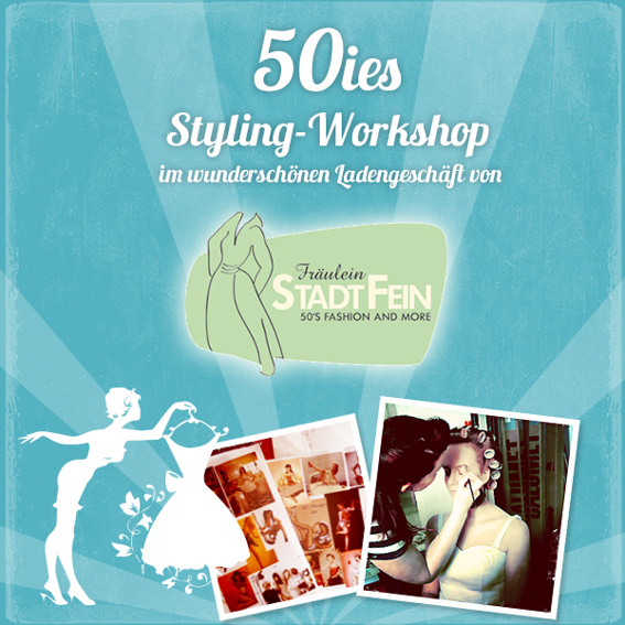 Pin Up Styling Workshop! - LIMITIERTE Platzanzahl