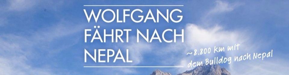 Wolfgang fährt nach Nepal