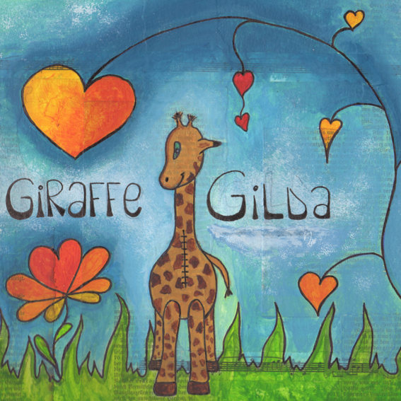Giraffe Gilda Buch