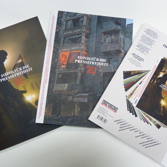 Das aktuelle Fotobuch 2014 + die Ausgaben der letzten zwei Jahre.